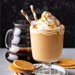 Salted Caramel Brulee Latte recipe