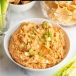 Buffalo Chicken Dip title image