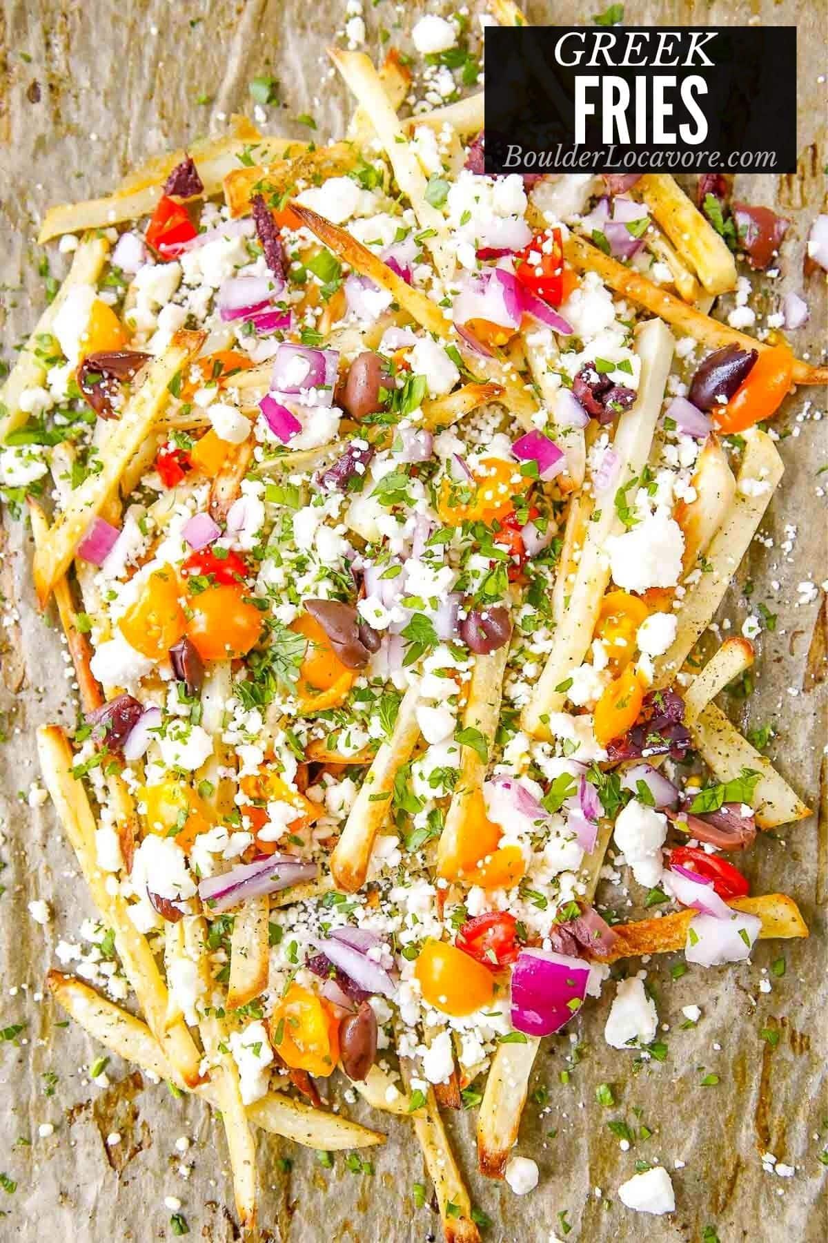 Greek Fries title