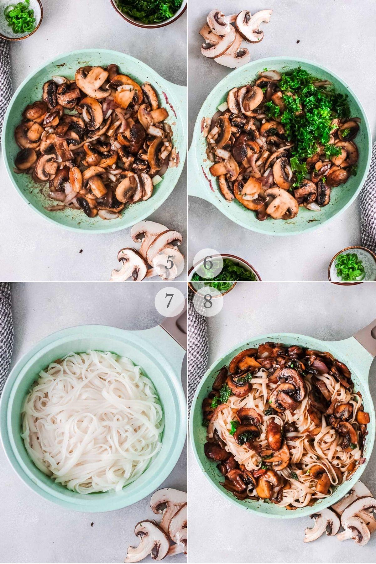 Korean Noodles recipe steps 5-8