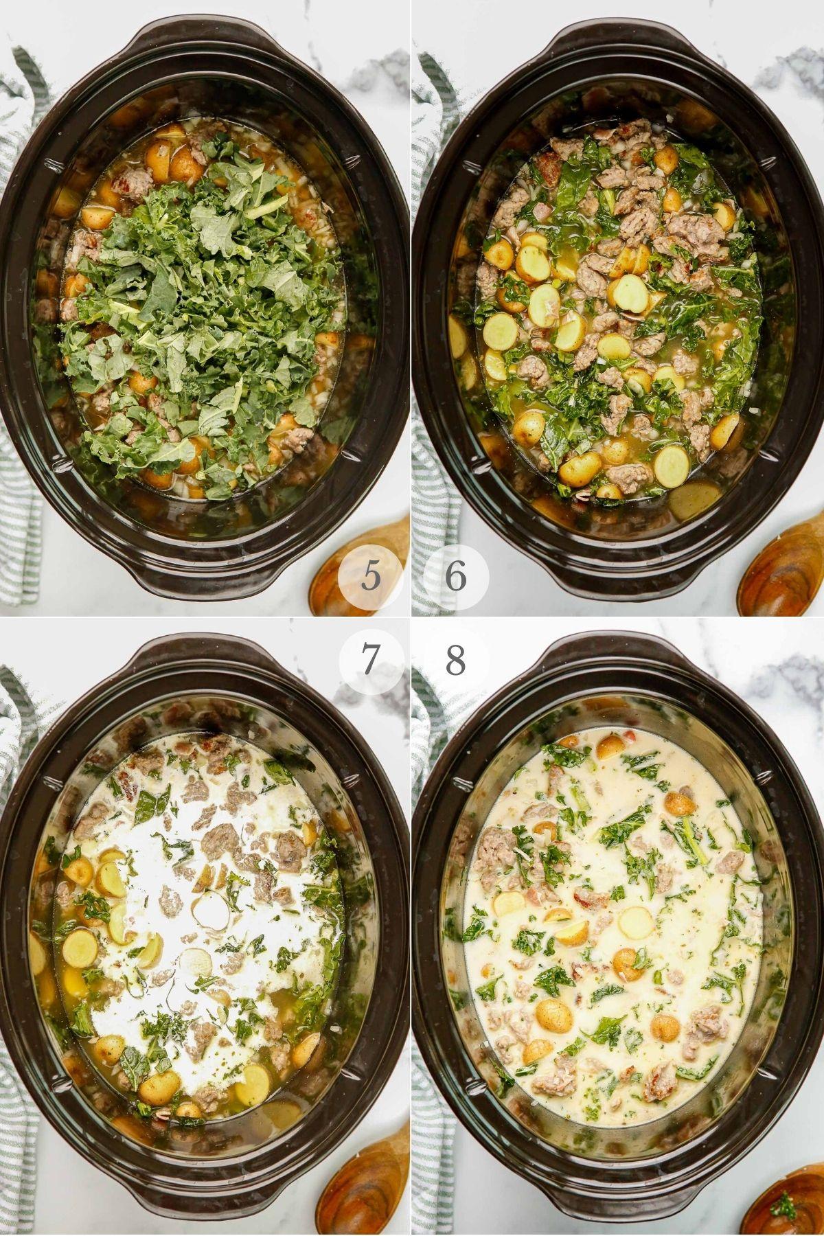Zuppa Toscana recipe steps 5-8