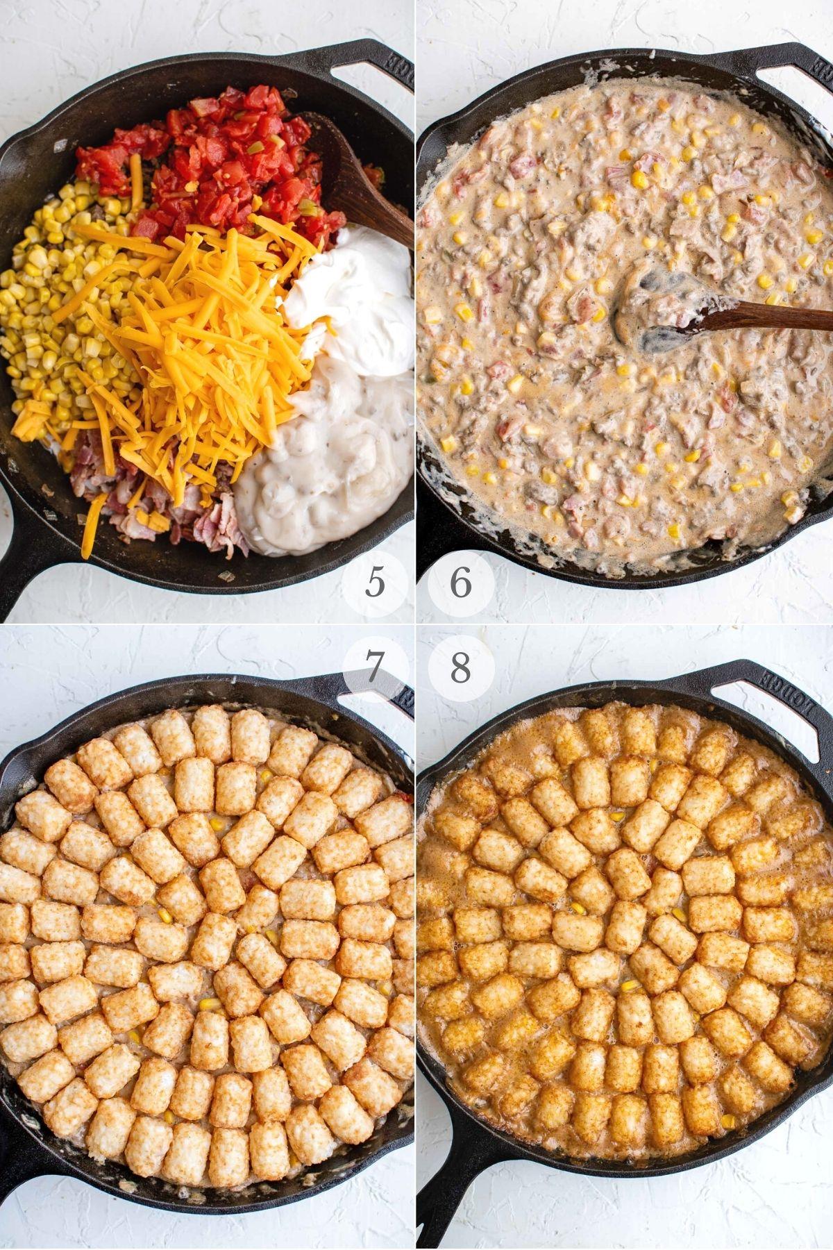 cowboy casserole recipe steps 5-8