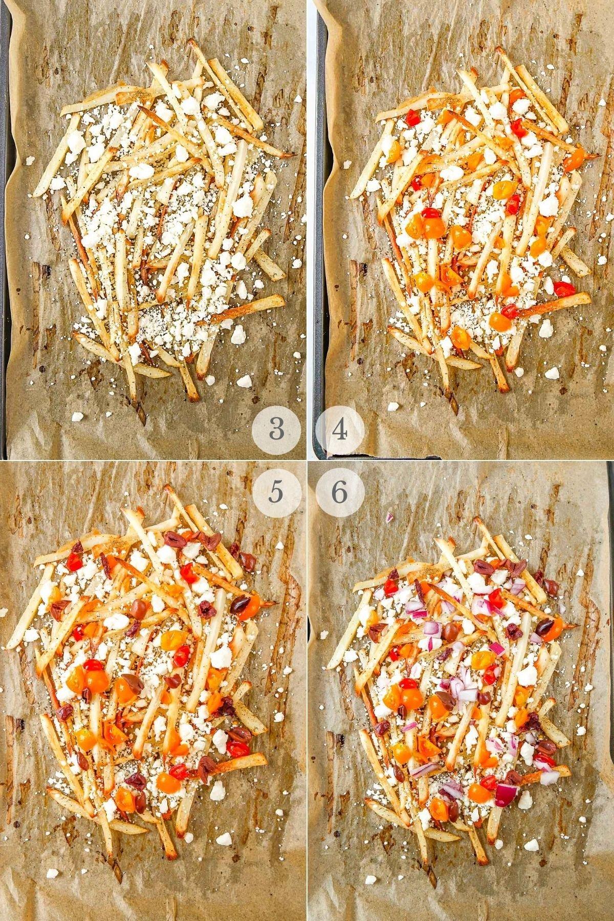 greek fries recipe steps 3-6