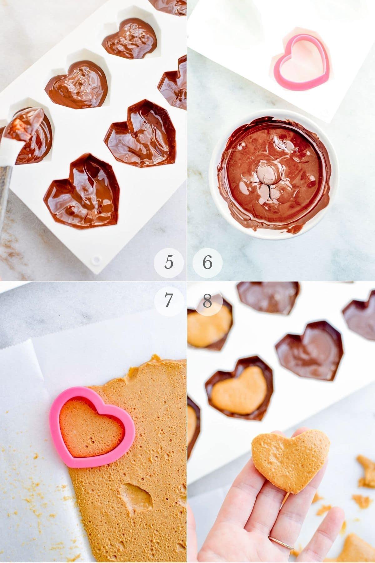 homemade peanut butter cups recipes steps 5-8a