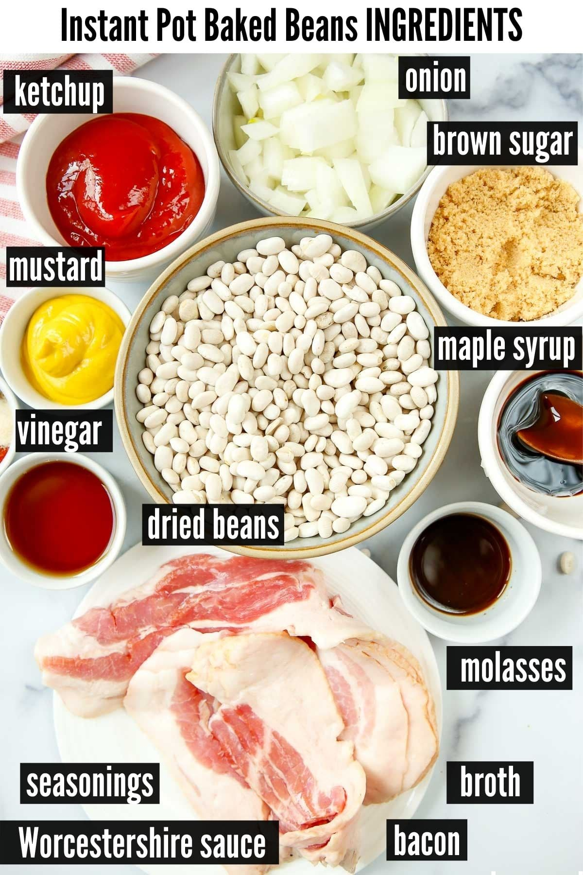 instant pot baked beans ingredients