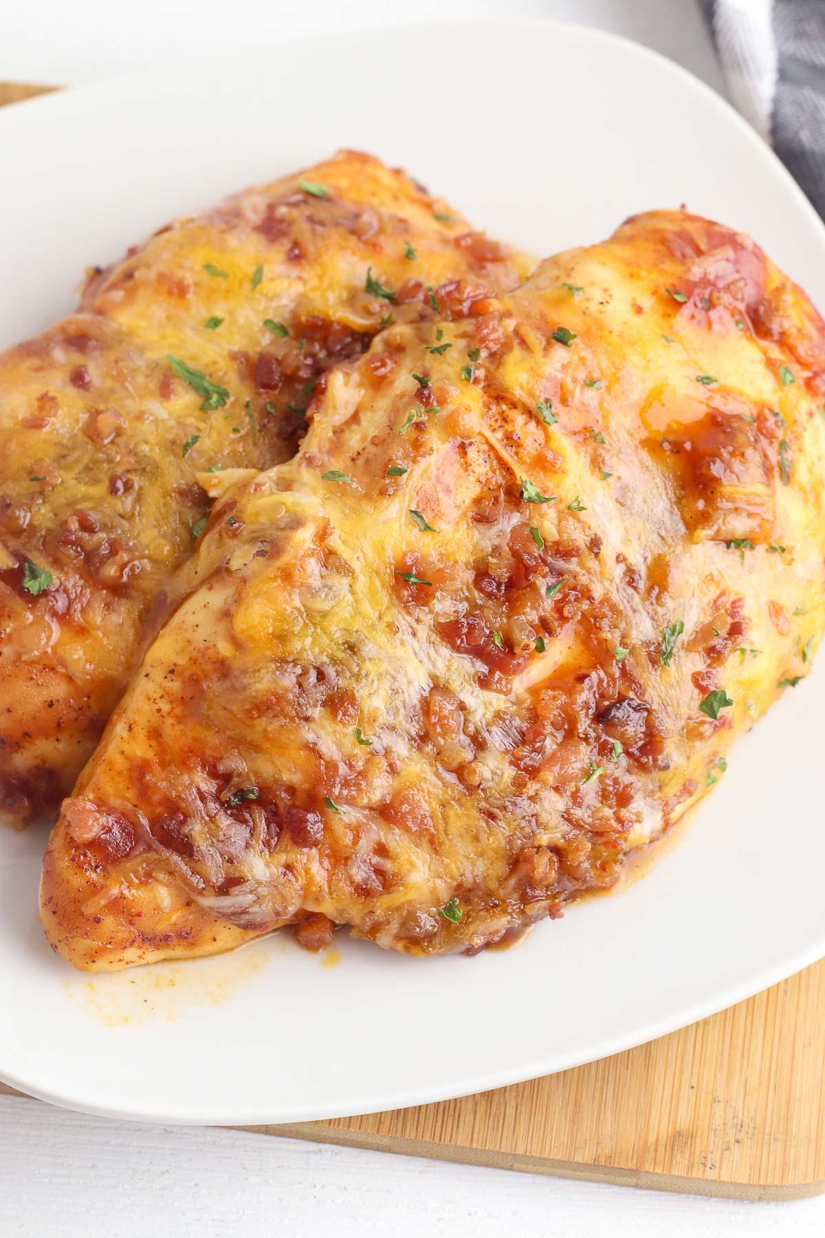 monterey chicken close up