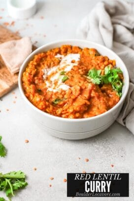 Red Lentil Curry title