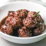 asian meatballs title