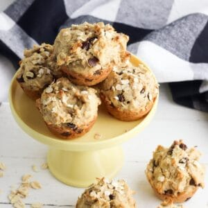 peanut butter banana muffins s