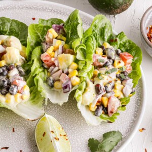 Mexican lettuce wraps square