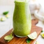 cilantro lime dressing title