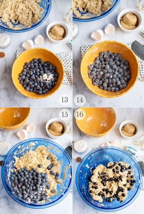 Blueberry Coffee Cake recipe steps photos 13-16
