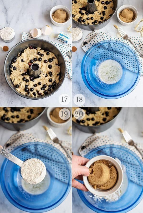 Blueberry Coffee Cake recipe steps photos 17-20