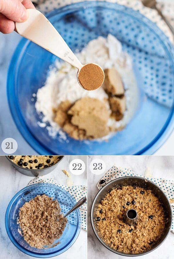 Blueberry Coffee Cake recipe steps photos 21-23