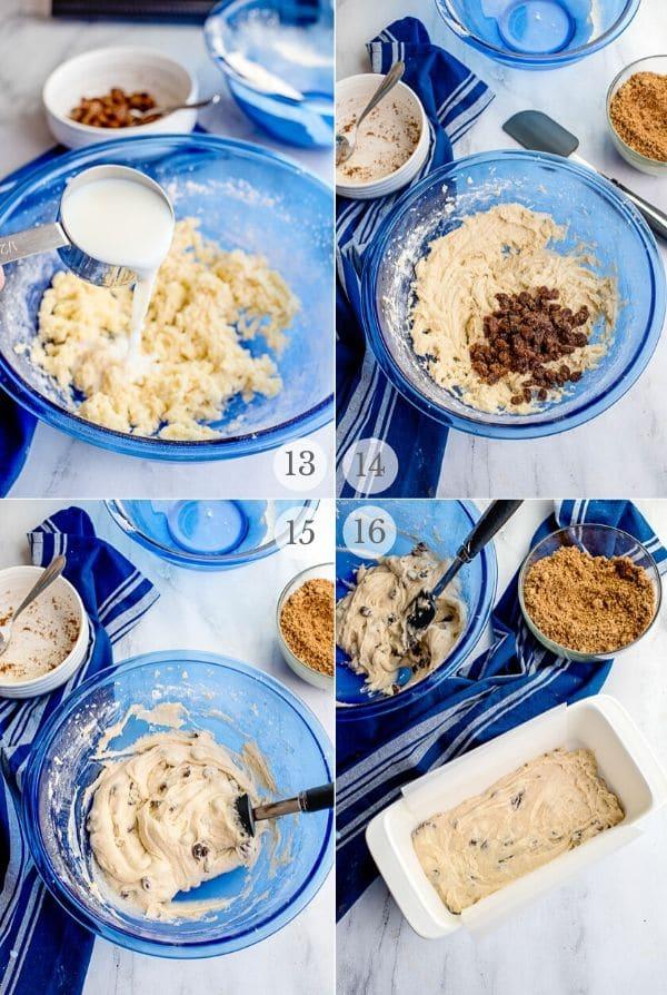 Cinnamon Raisin Bread recipe steps photos steps 13-16