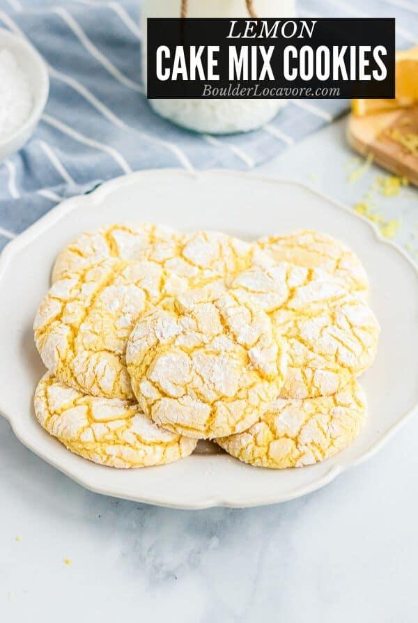 LEMON CAKE MIX COOKIES TITLE IMAGE