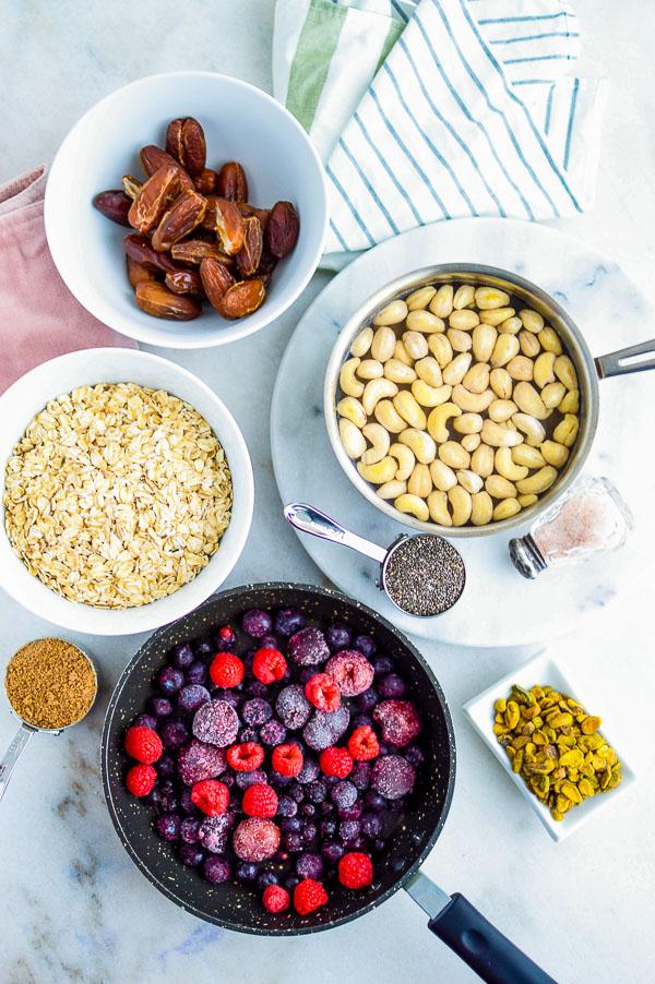 breakfast berry pie ingredients