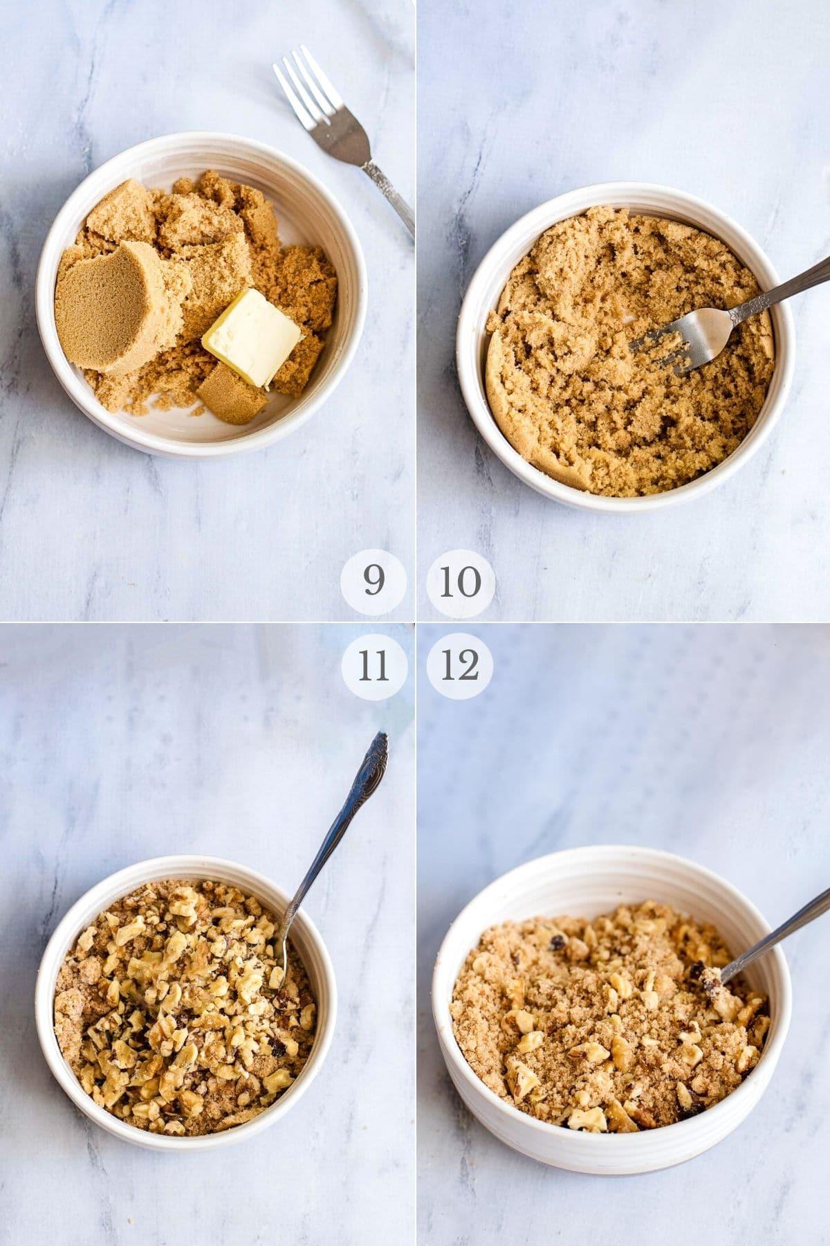 sour cream coffee cake recipe steps 9-12