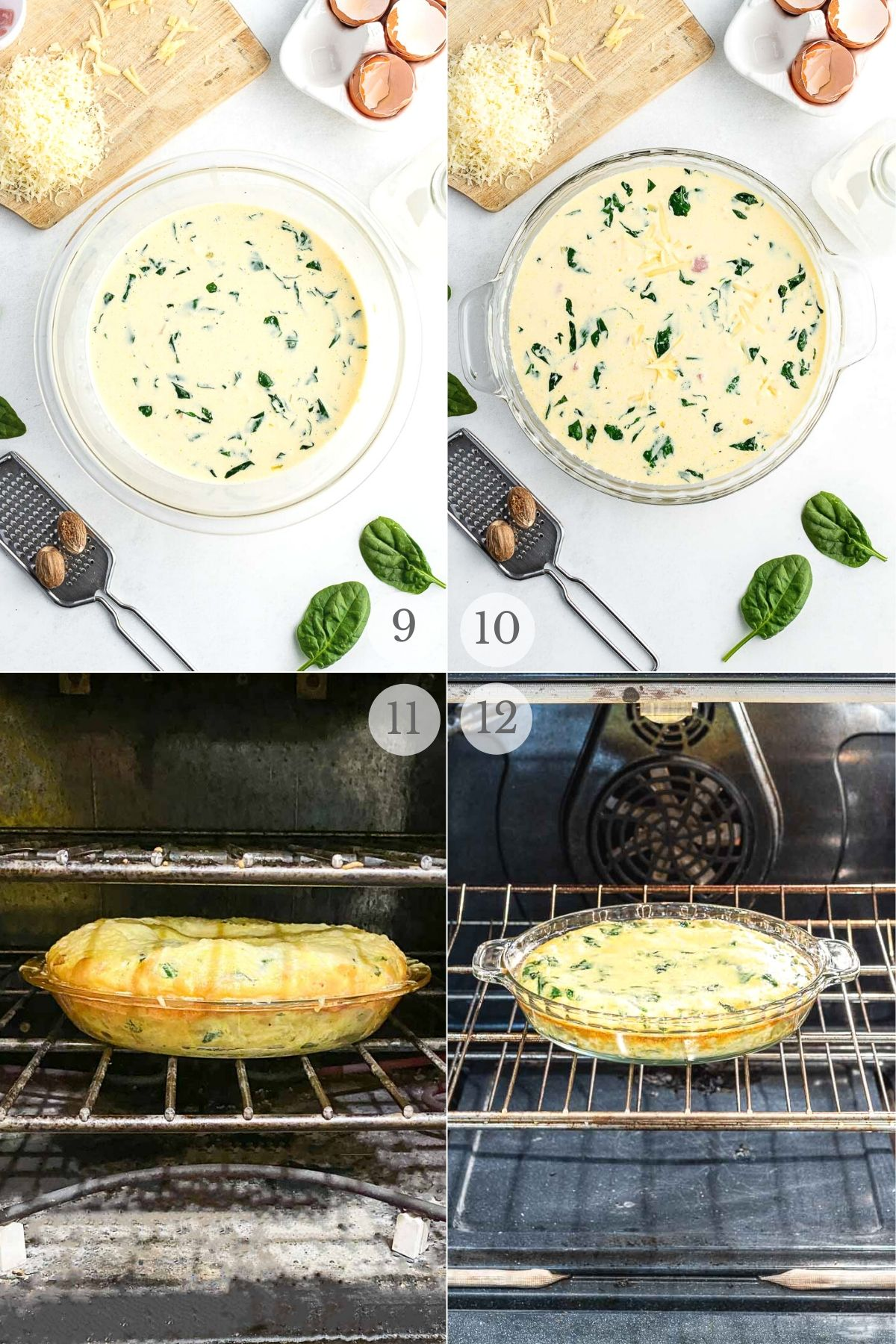 Crustless Quiche recipes steps 9-12