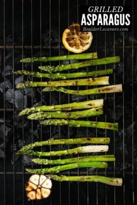 Grilled Asparagus title image