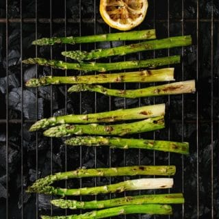 Grilled Asparagus title image