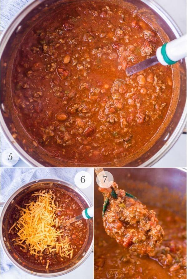 Red Chili recipe Process shots 2