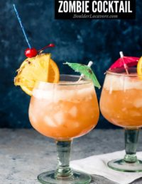 The Zombie Cocktail: A Tropical Vacation in a Glass!