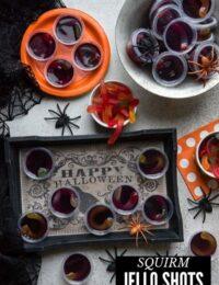 squirm Halloween jello shots