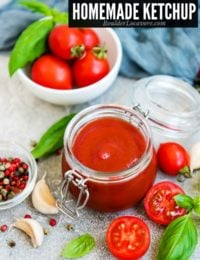 The Best Homemade Ketchup - Made with Fresh Tomatoes!