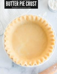 ALL BUTTER PIE CRUST TITLE IMAGE