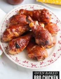 Oven Baked BBQ Chicken title image